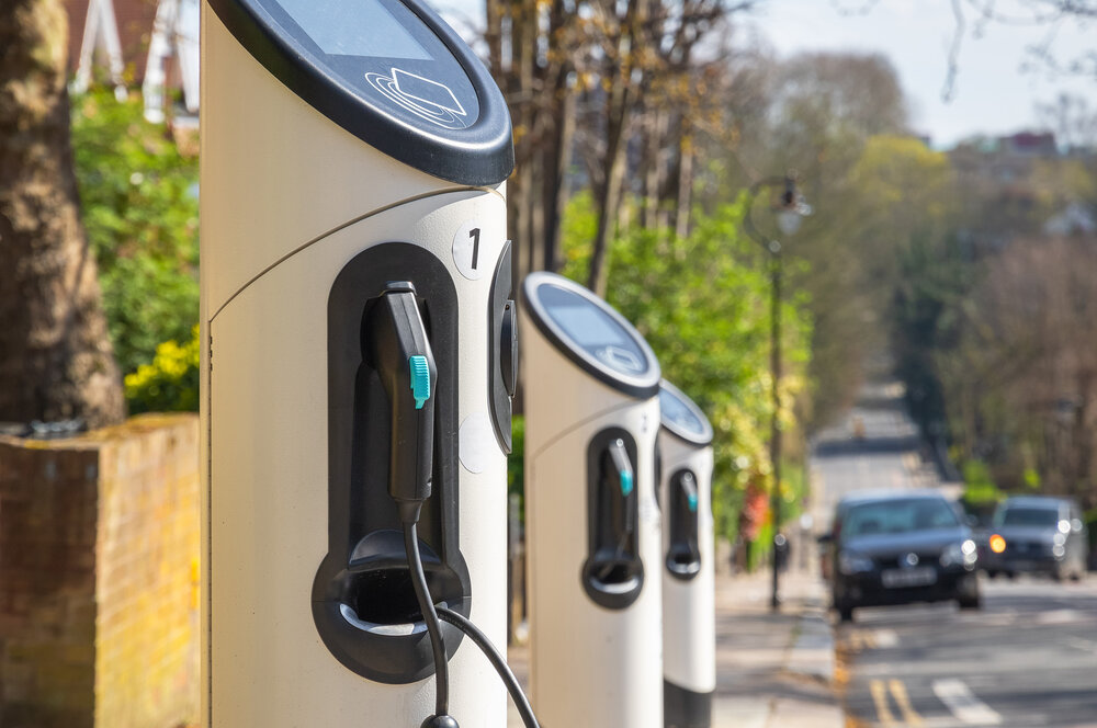 Electric car charging points in Newcastle